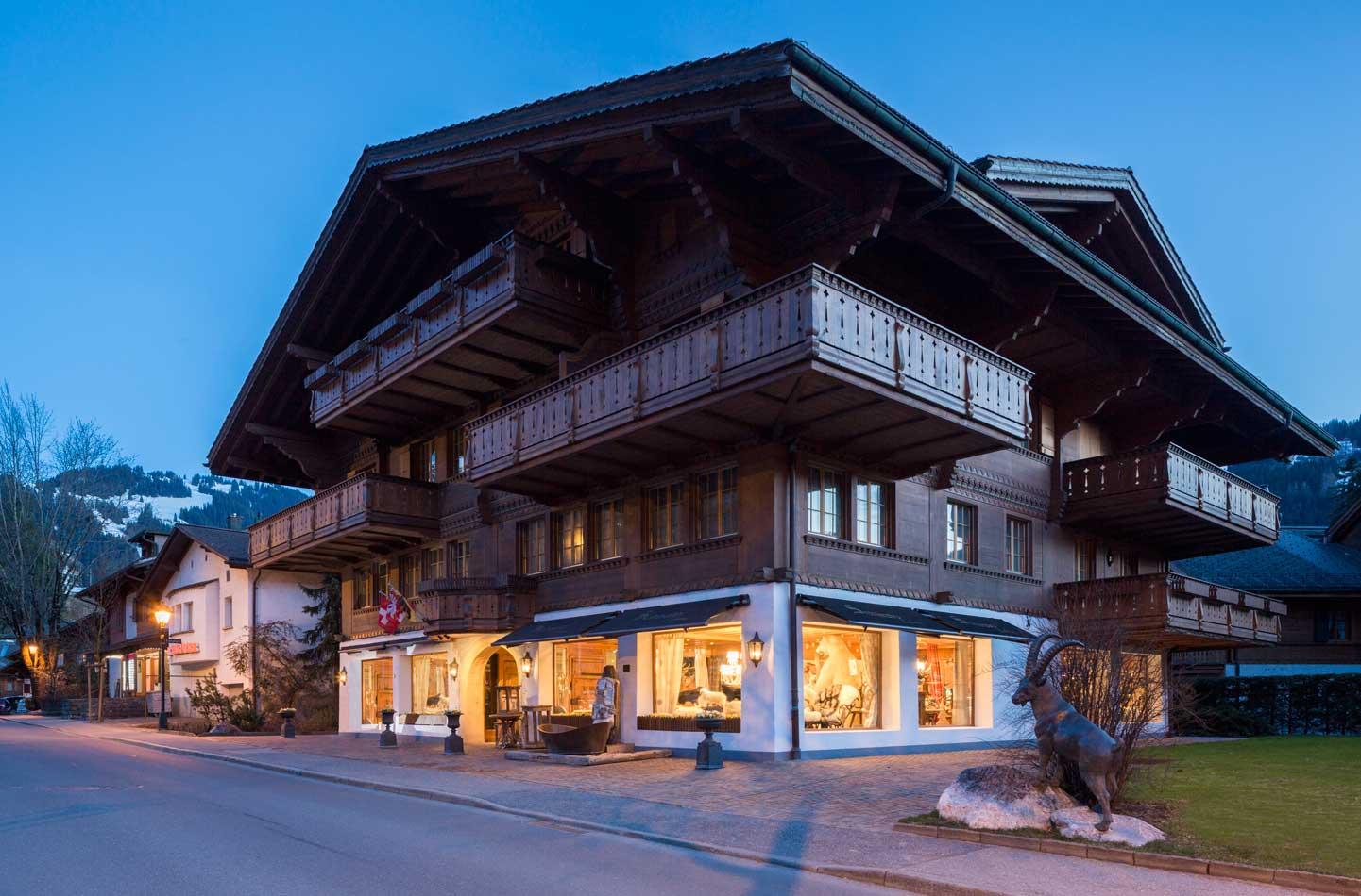 Schirato Interiors Luxury Chalet Furniture Gstaad Swiss